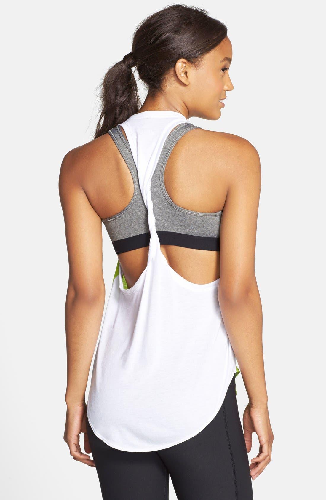 Alternate Image 2  - Nike 'Signal' Back Twist Tank