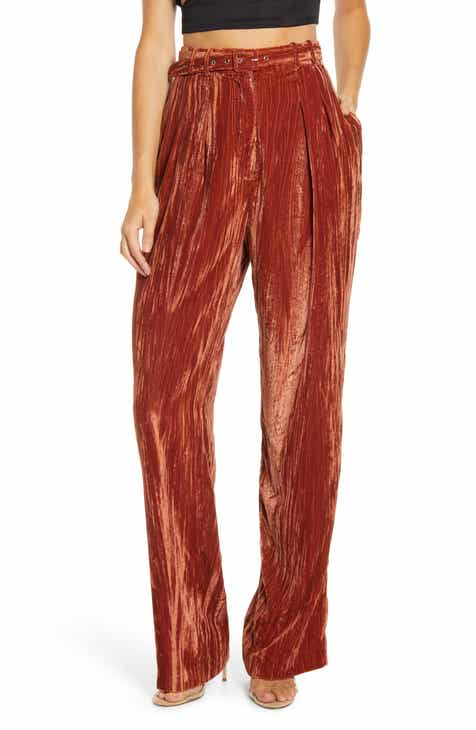 WAYF Belted Trousers