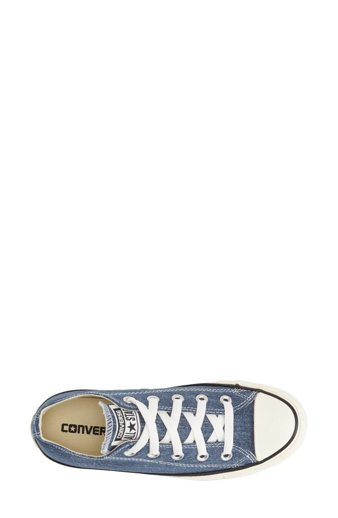 Alternate Image 3  - Converse Chuck Taylor® All Star® Washed Canvas 'Ox' Sneaker (Women)