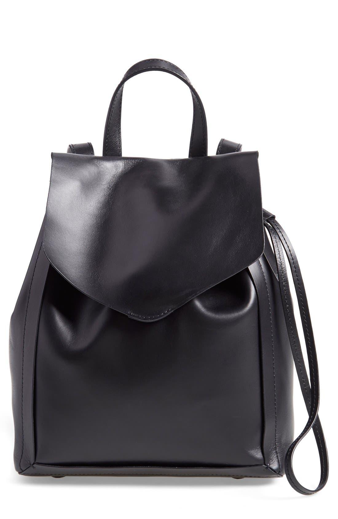 Alternate Image 1 Selected - Loeffler Randall 'Mini' Leather Backpack