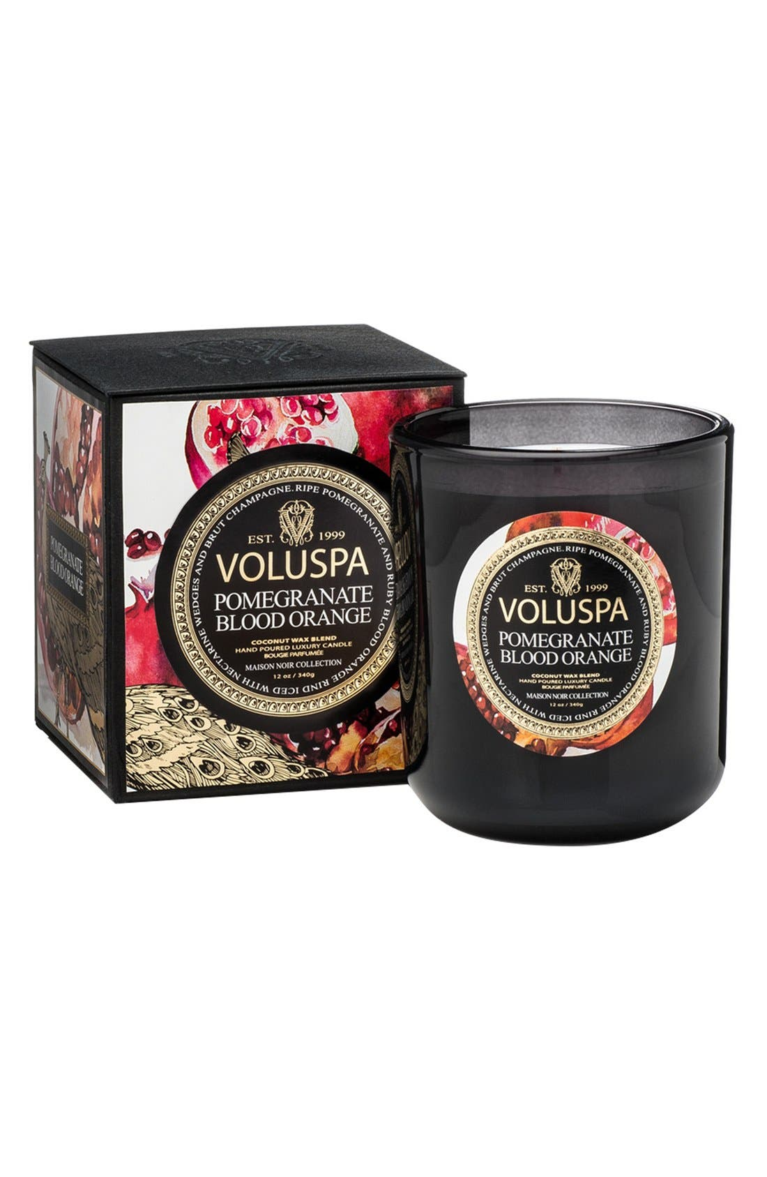 Maison Noir Classic Maison Candle,                         Main,                         color, Pomegranate Blood Orange