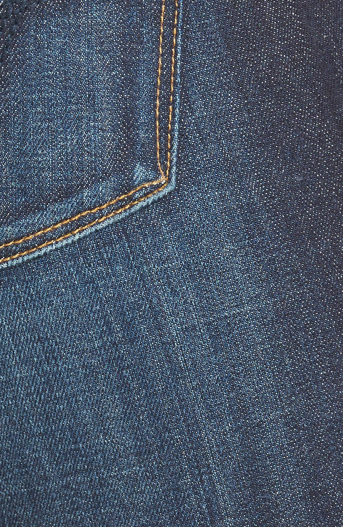 Alternate Image 3  - Vigoss 'Chelsea' Skinny Jeans (Dark Wash)