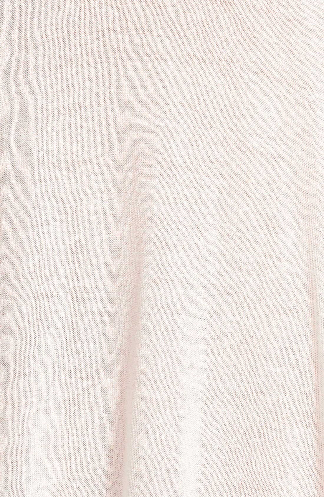 Alternate Image 3  - Ella Moss 'Kenza' Draped Open Front Cardigan