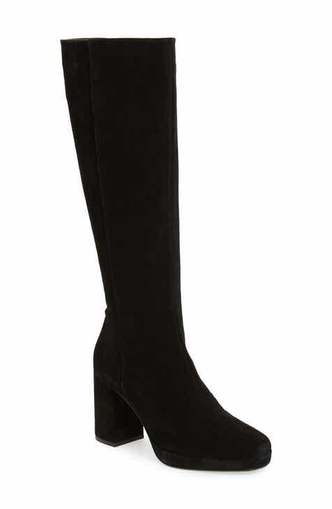 Topshop Toronto Knee High Boot (Women)