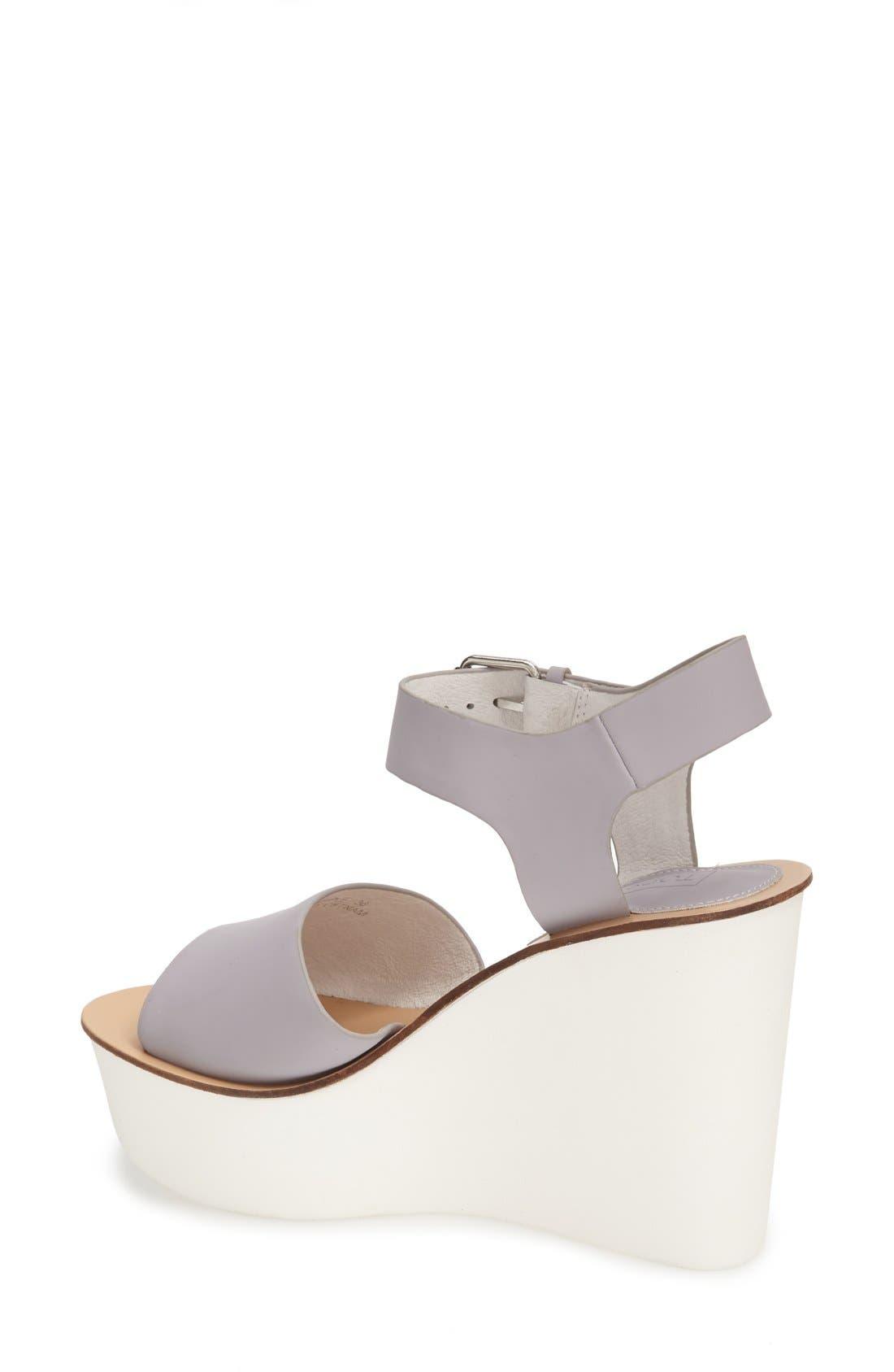 Alternate Image 2  - Topshop 'Wedding' Wedge Sandal (Women)