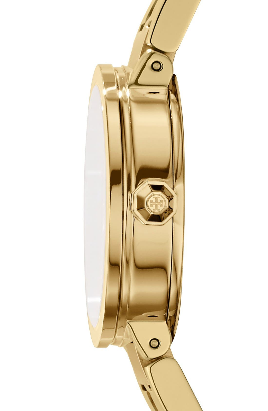 Alternate Image 2  - Tory Burch 'Reva' Logo Dial Bracelet Watch, 28mm