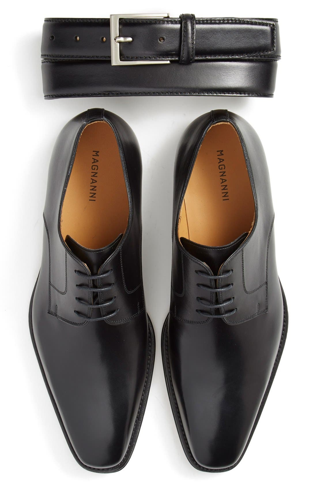 Alternate Image 5  - Magnanni 'Colo' Plain Toe Derby (Men)