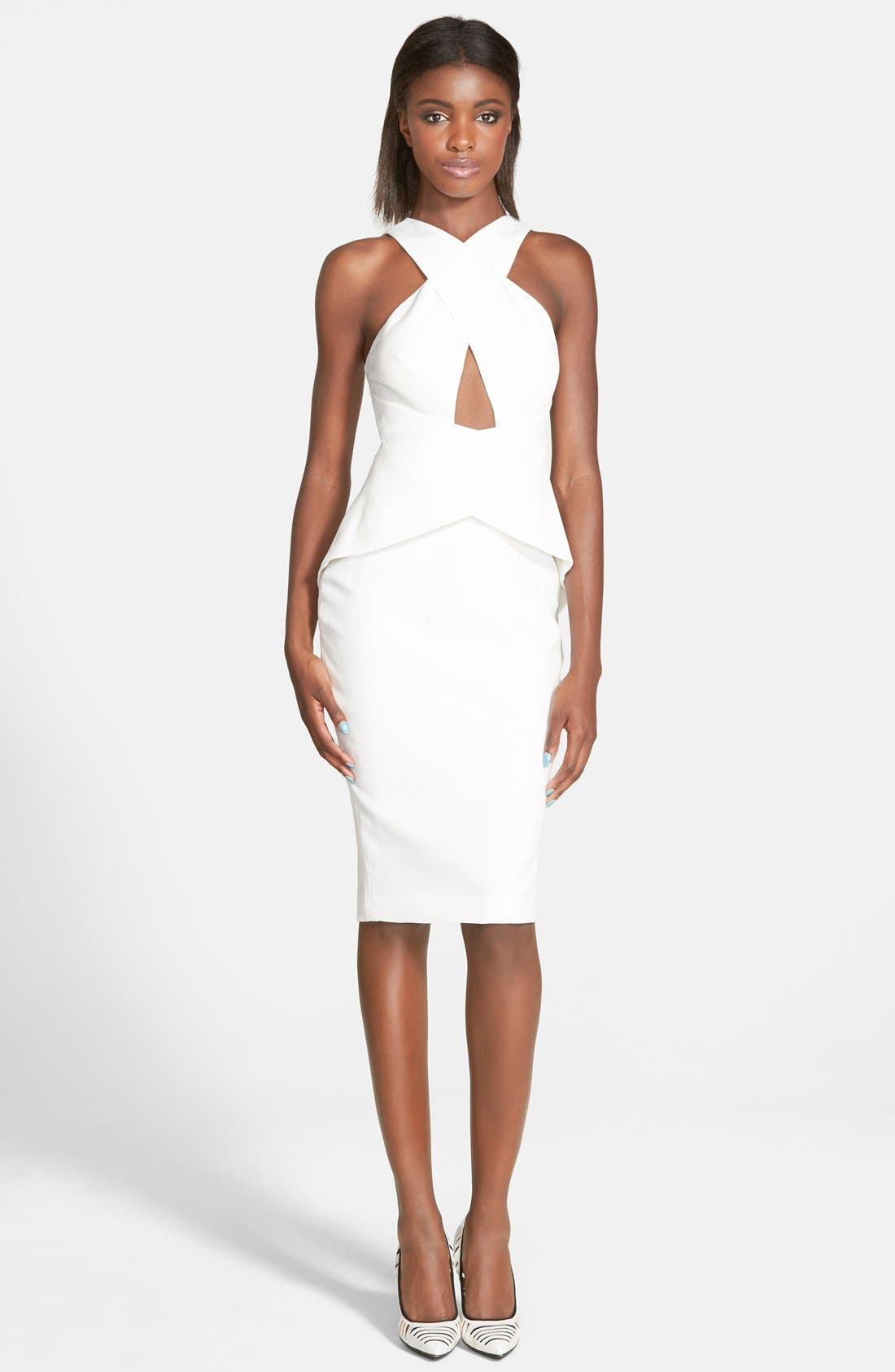 Alternate Image 1 Selected - C/MEO Collective 'What You Know' Peplum Dress