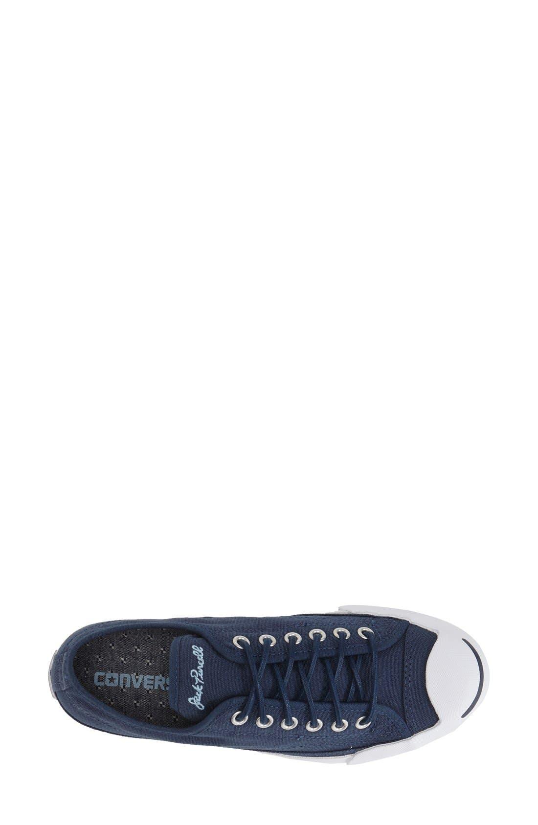 'Jack Purcell' Low Top Slip On Sneaker,                             Alternate thumbnail 3, color,                             Navy/ Blue/ White