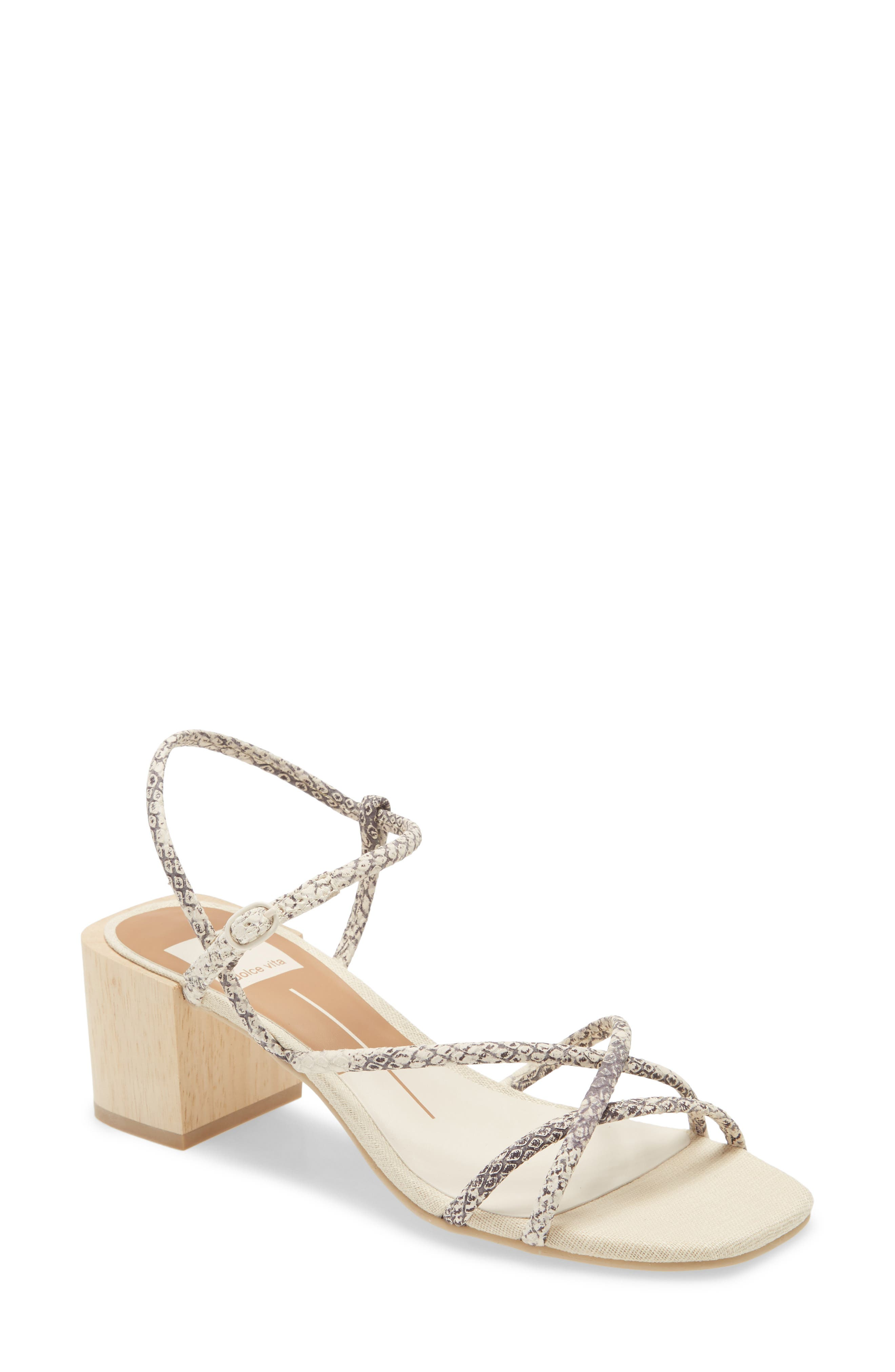 LADIES T BAR Sling Back Buckle Block Heel Sandals Floral Navy Size 3 4 5 6 7 8
