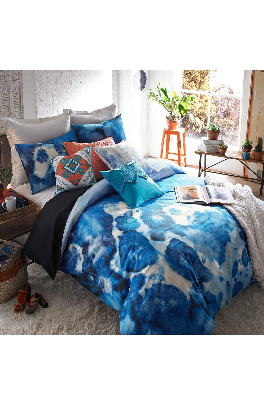 Blissliving Home Casa Azul Reversible Duvet Cover U0026 Sham Set