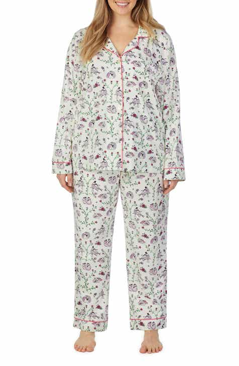 BedHead Pajamas Stretch Organic Cotton Pajamas (Plus Size)