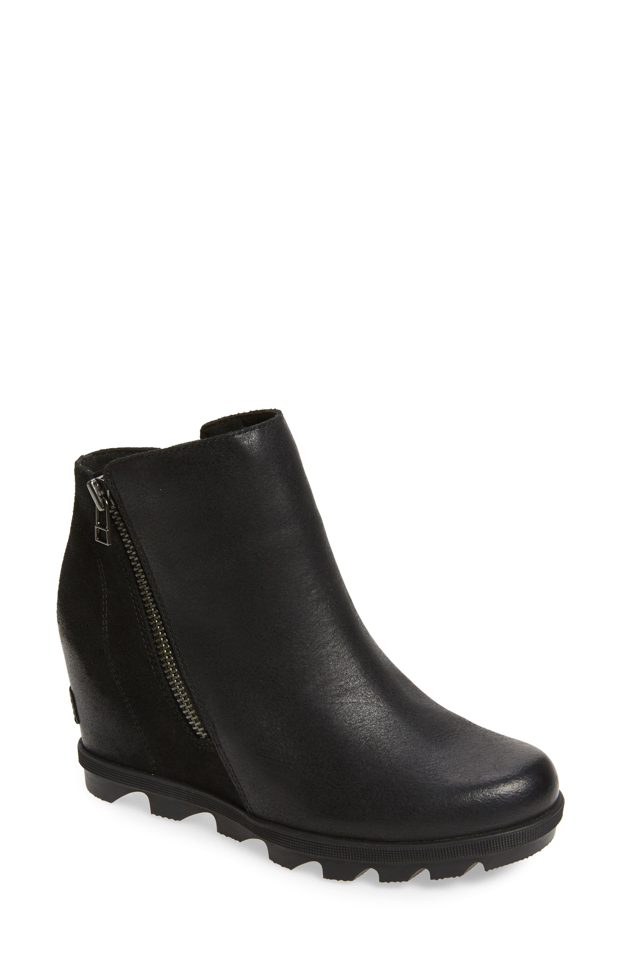 nordstrom lace up booties