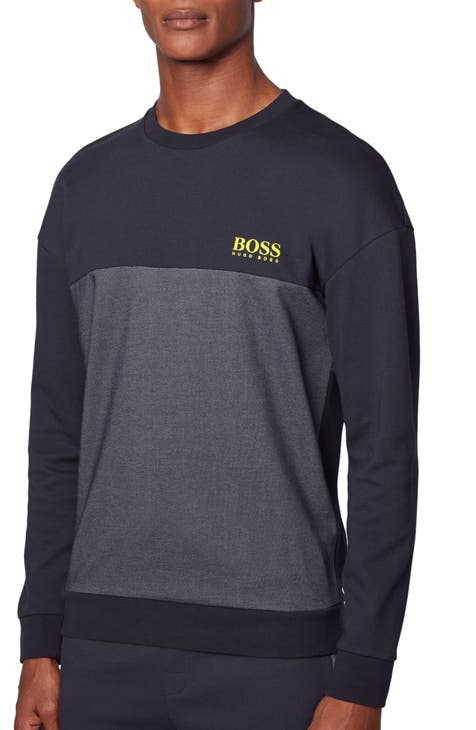 BOSS Tracksuit Colorblock Long Sleeve T-Shirt