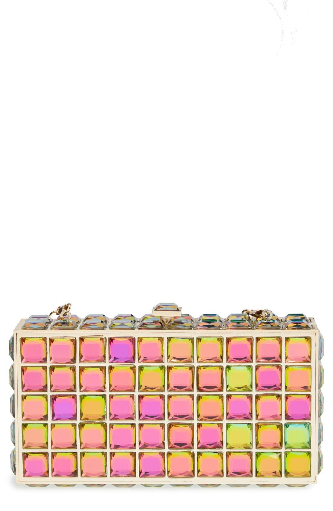 Main Image - Natasha Couture Box Clutch