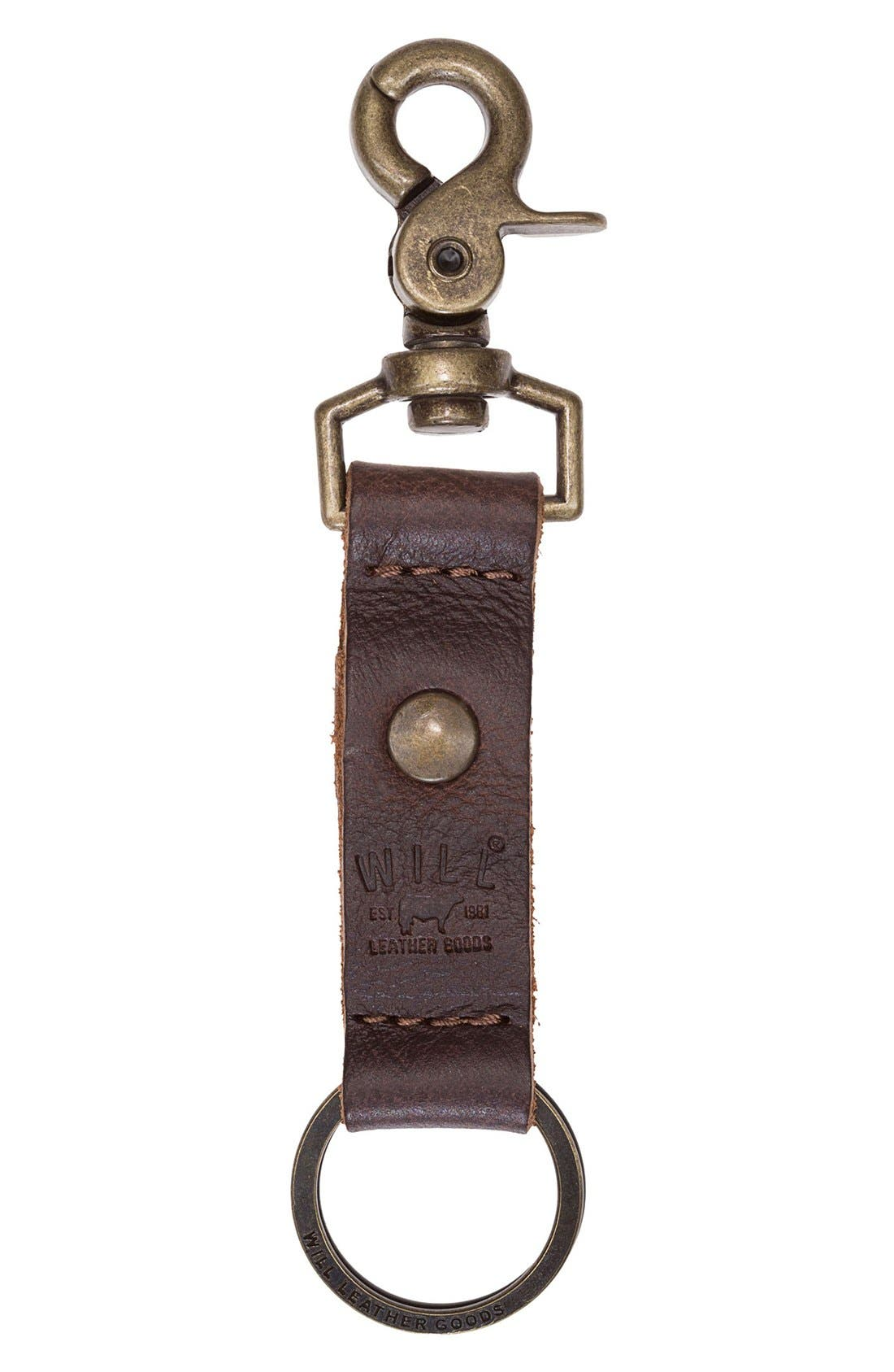 Will Leather Goods 'Wren' Key Chain