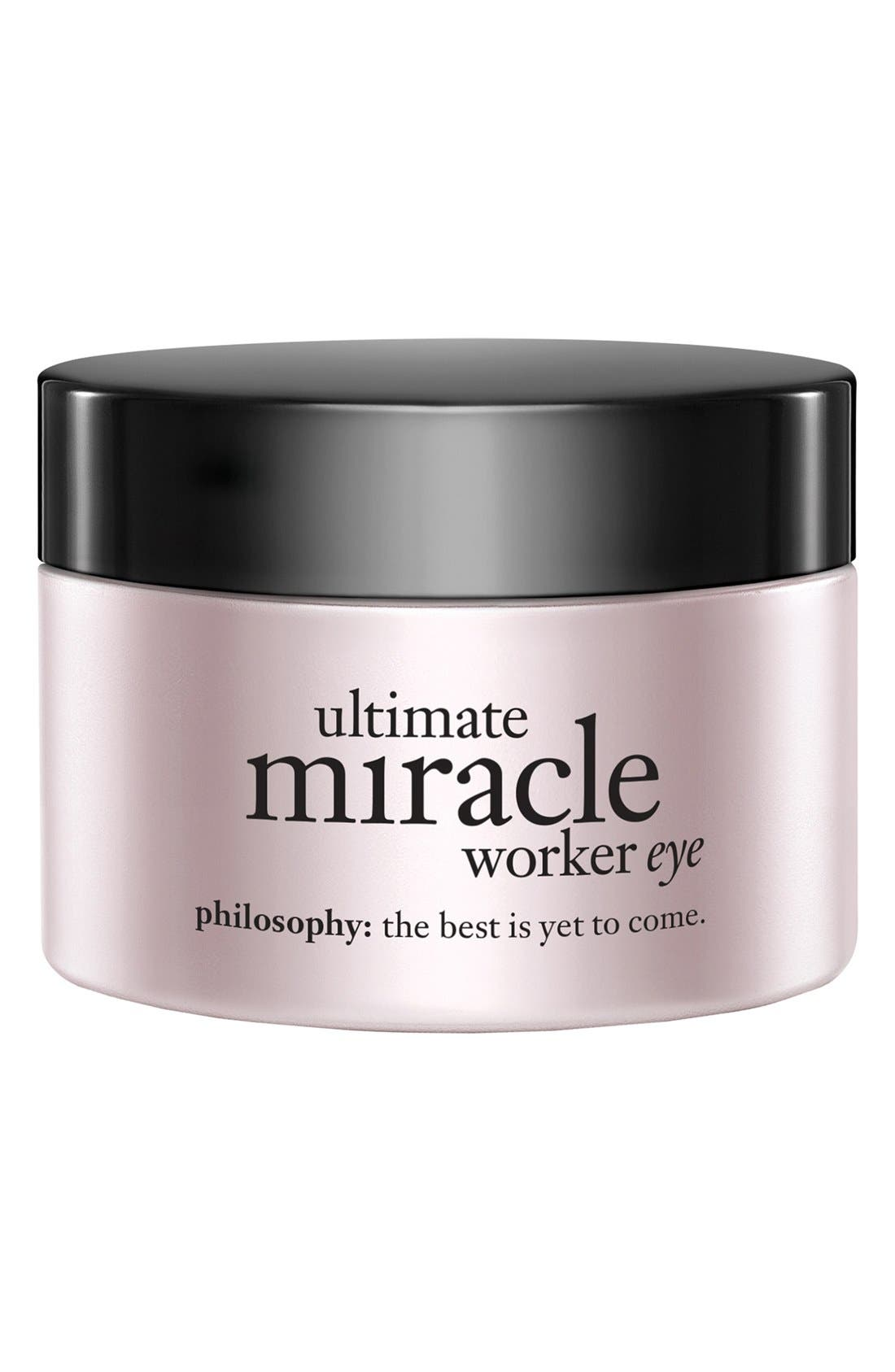 philosophy 'ultimate miracle worker eye' multi-rejuvenating eye cream broad spectrum SPF 15
