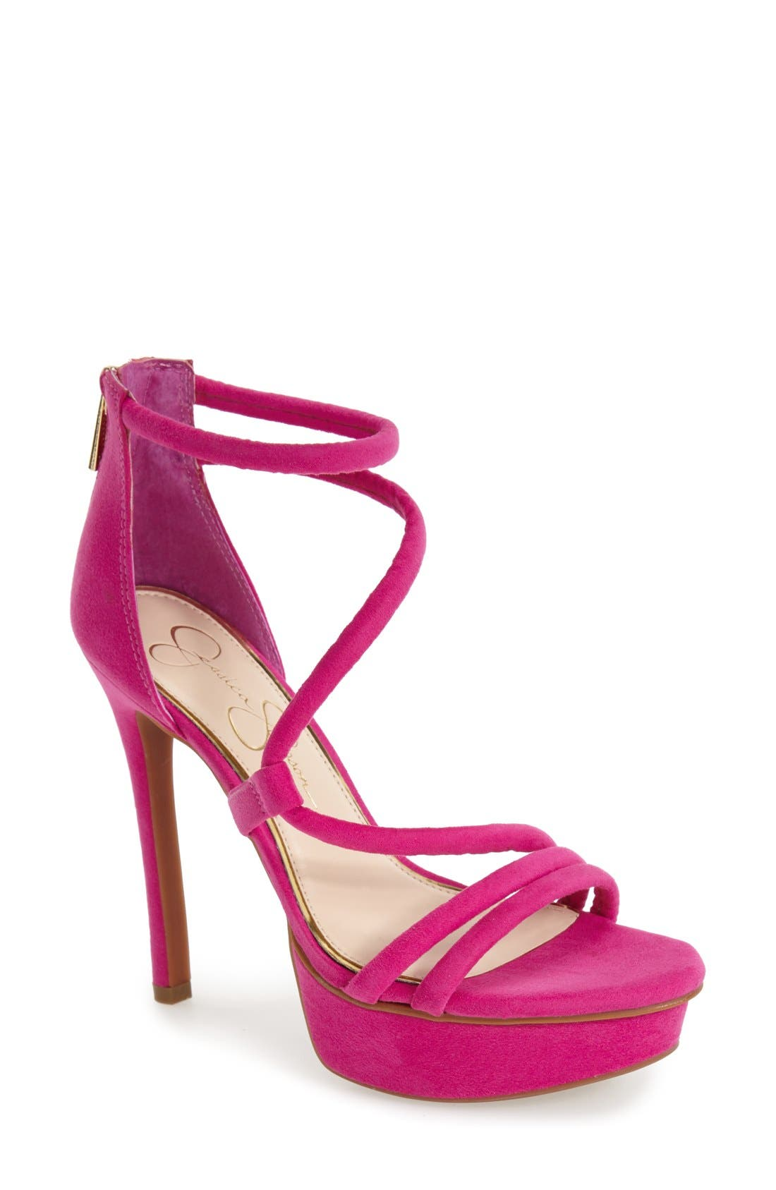 Alternate Image 1 Selected - Jessica Simpson 'Caela' Platform Sandal (Women)