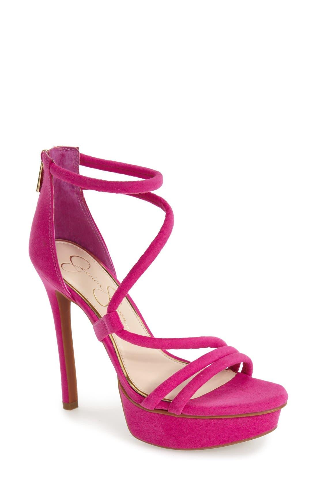 Main Image - Jessica Simpson 'Caela' Platform Sandal (Women)