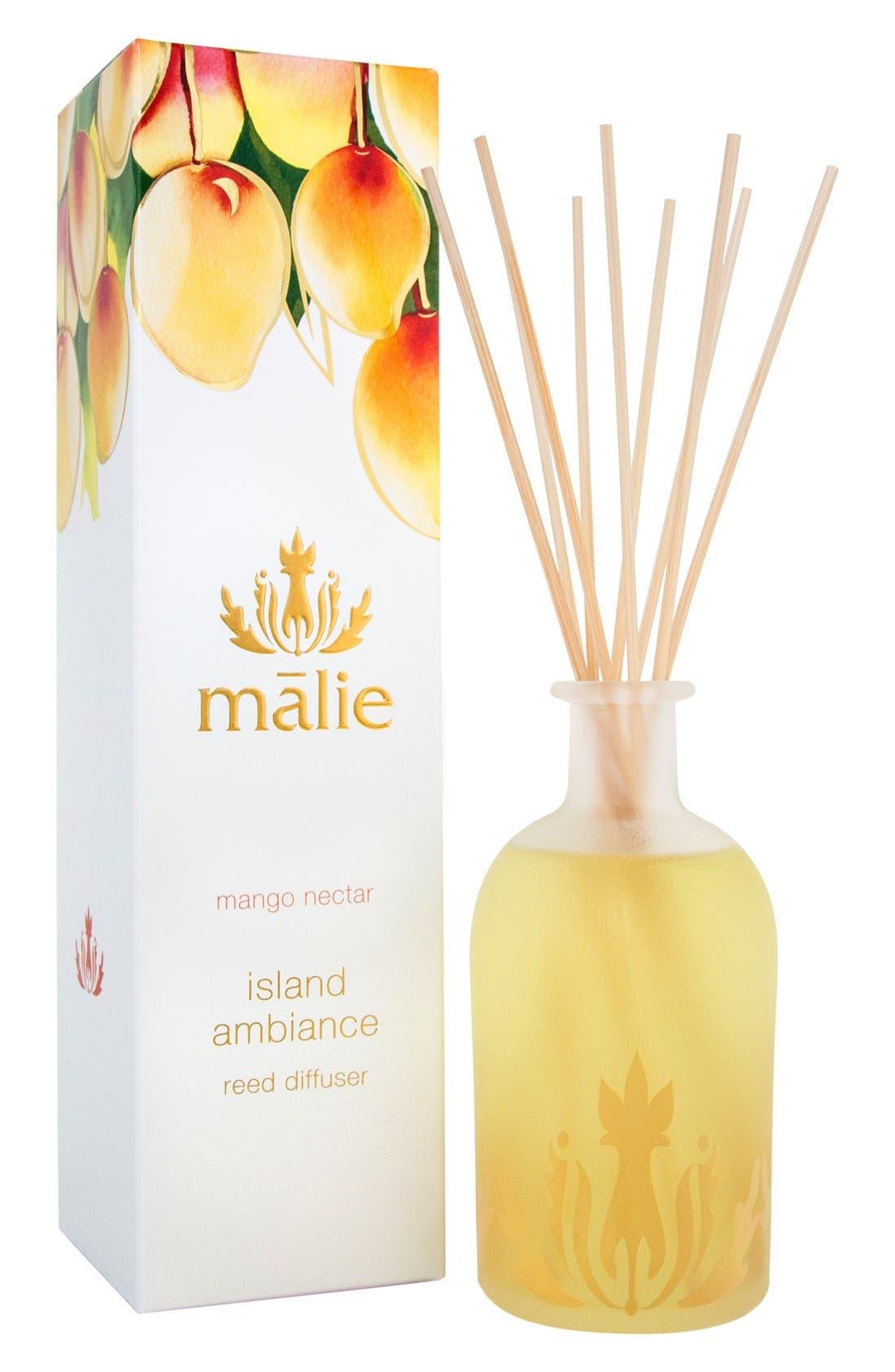 Alternate Image 1 Selected - Malie Organics Island Ambience™ Mango Nectar Reed Diffuser