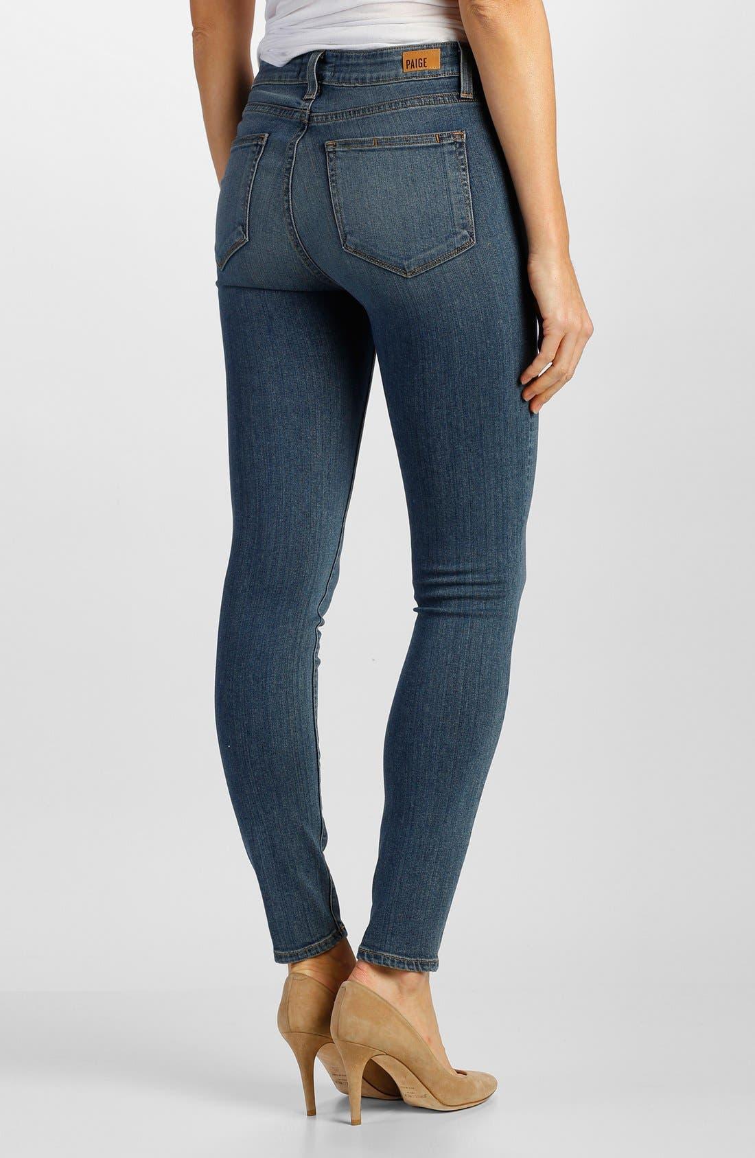 Alternate Image 2  - Paige Denim 'Transcend - Hoxton' High Rise Ankle Skinny Jeans (Brett)