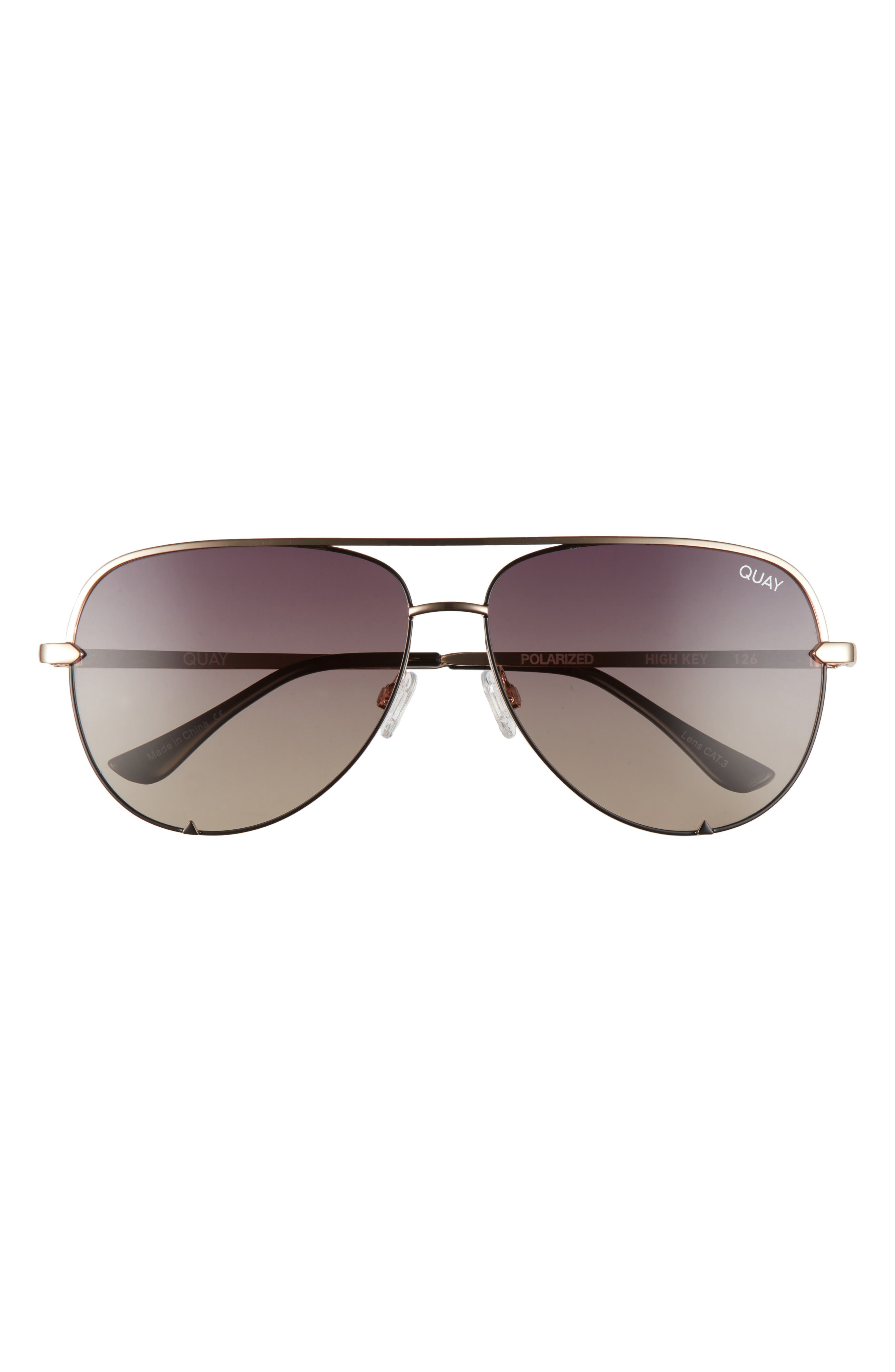 $24 Nordstrom *Vanquish* Clear Sunglasses 100/% UV Protected Black Rims