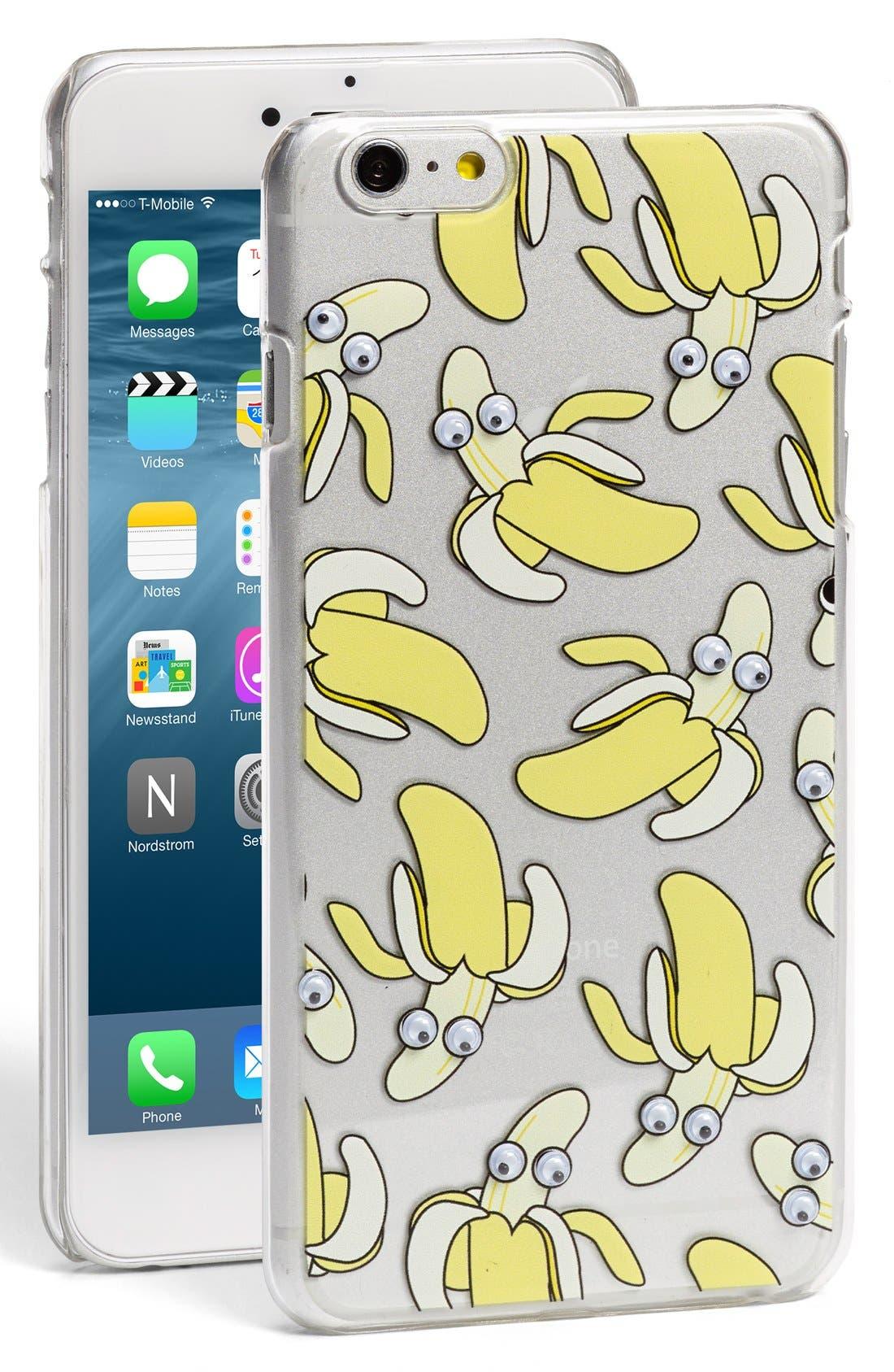 Alternate Image 1 Selected - Skinny Dip 'Banana' iPhone 6 & 6s Case