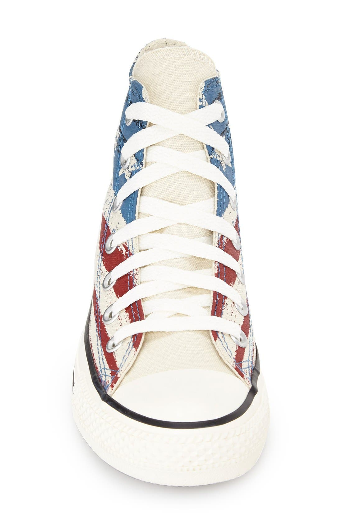 Alternate Image 3  - Converse Chuck Taylor® Flag Print High Top Sneaker (Women)