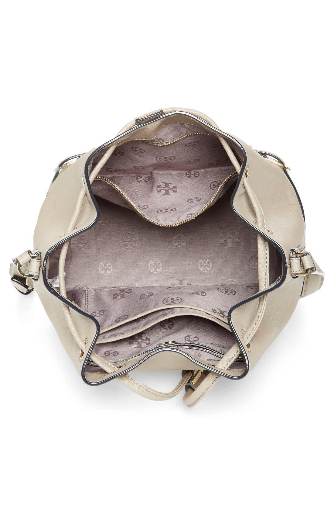 Alternate Image 4  - Tory Burch 'Robinson' Saffiano Leather Bucket Bag