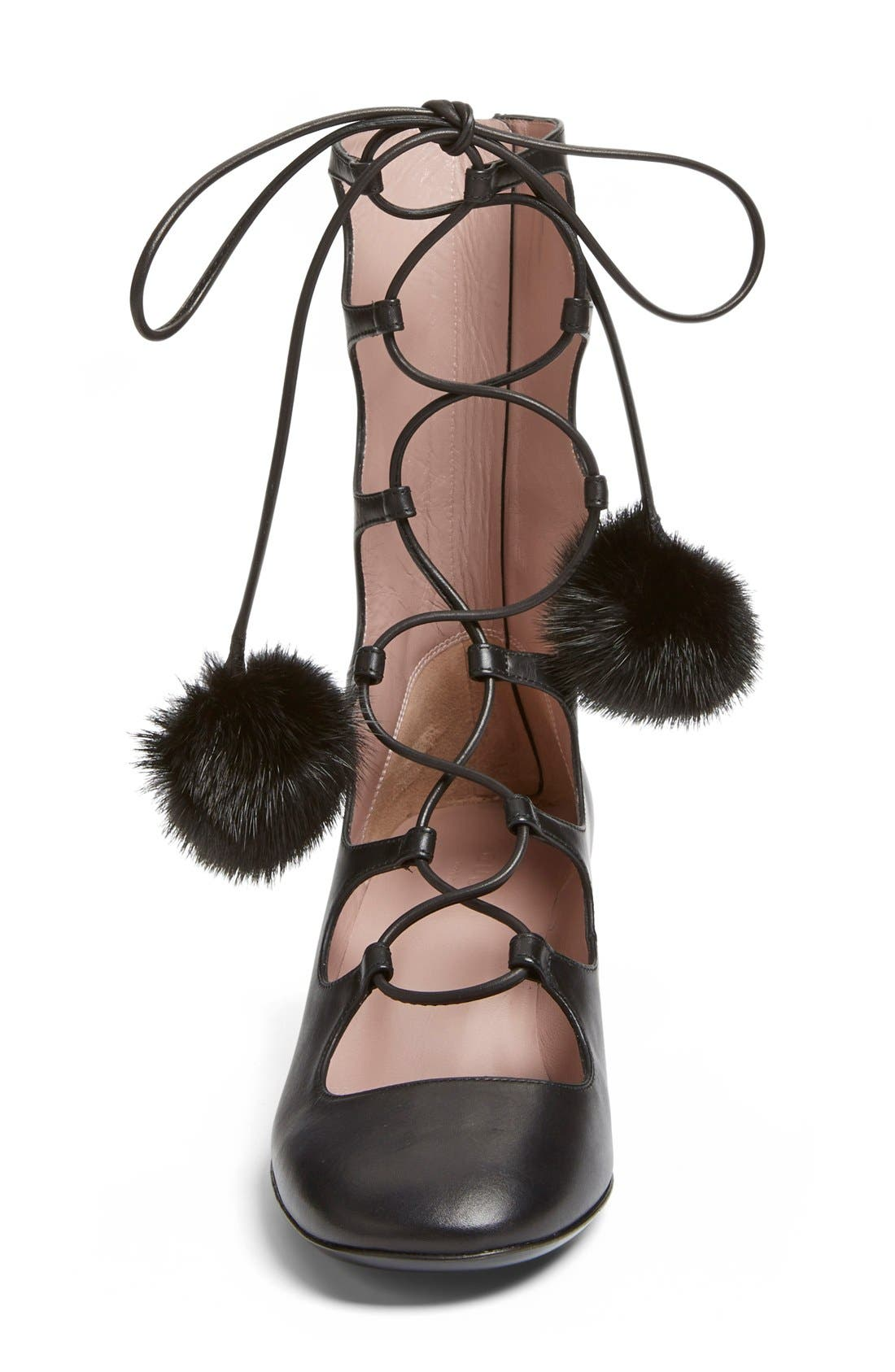 Alternate Image 3  - Gucci 'Heloise' Lace-Up Boot (Women)
