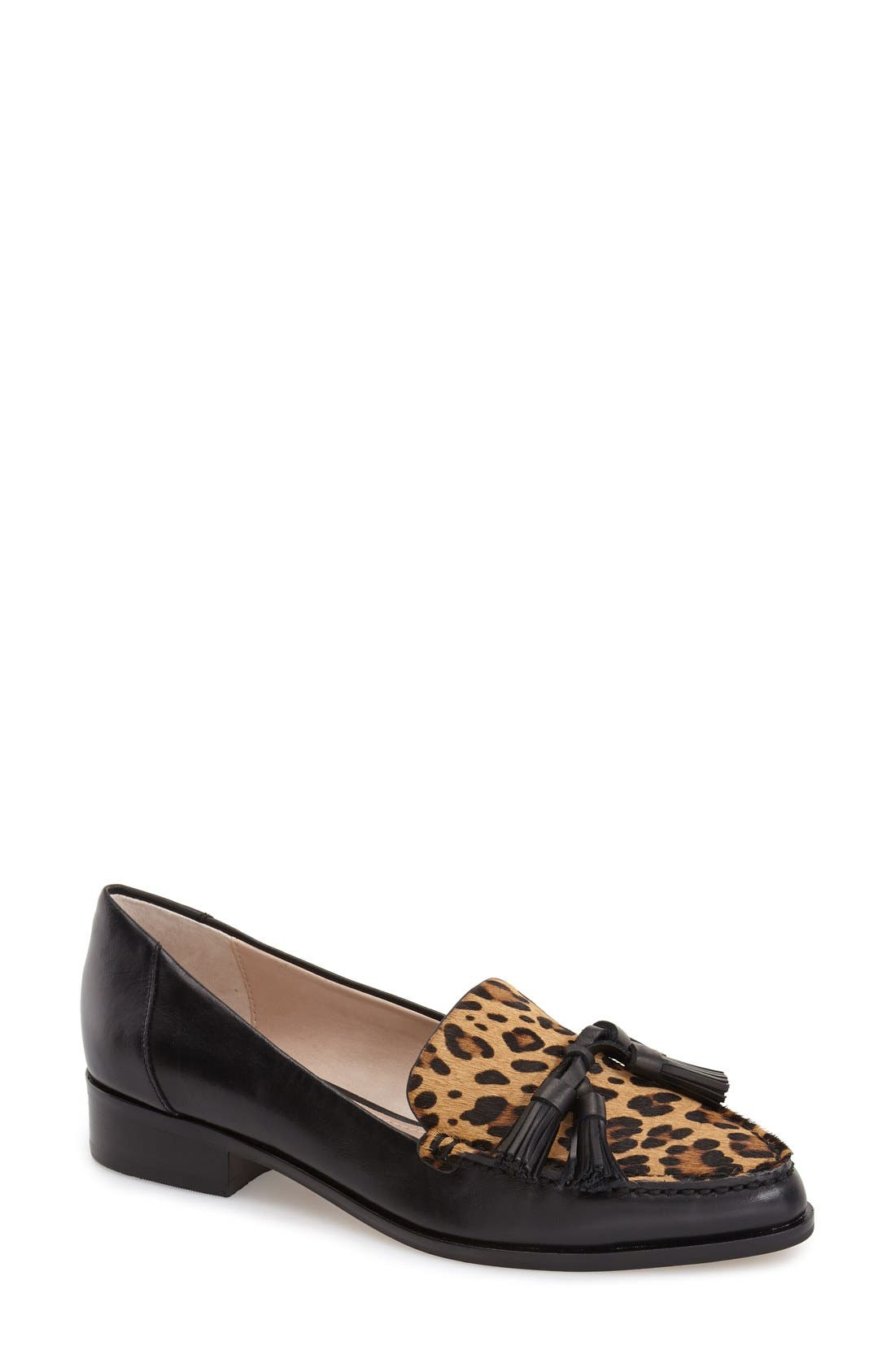 Alternate Image 1 Selected - French Connection 'Lonnie' Tassel Loafer (Women)