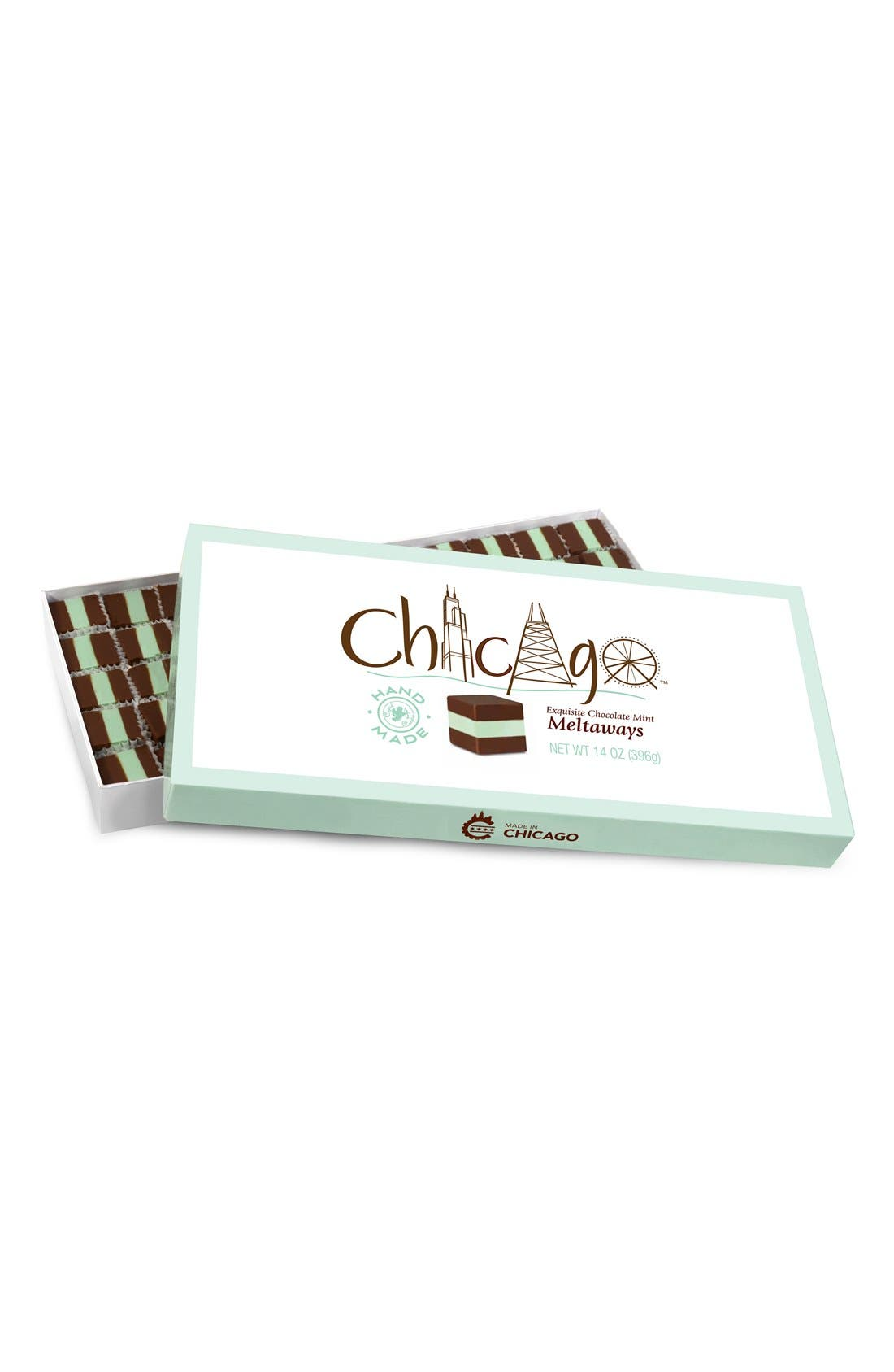 Chocolate Mint Meltaways,                         Main,                         color, Green/ White