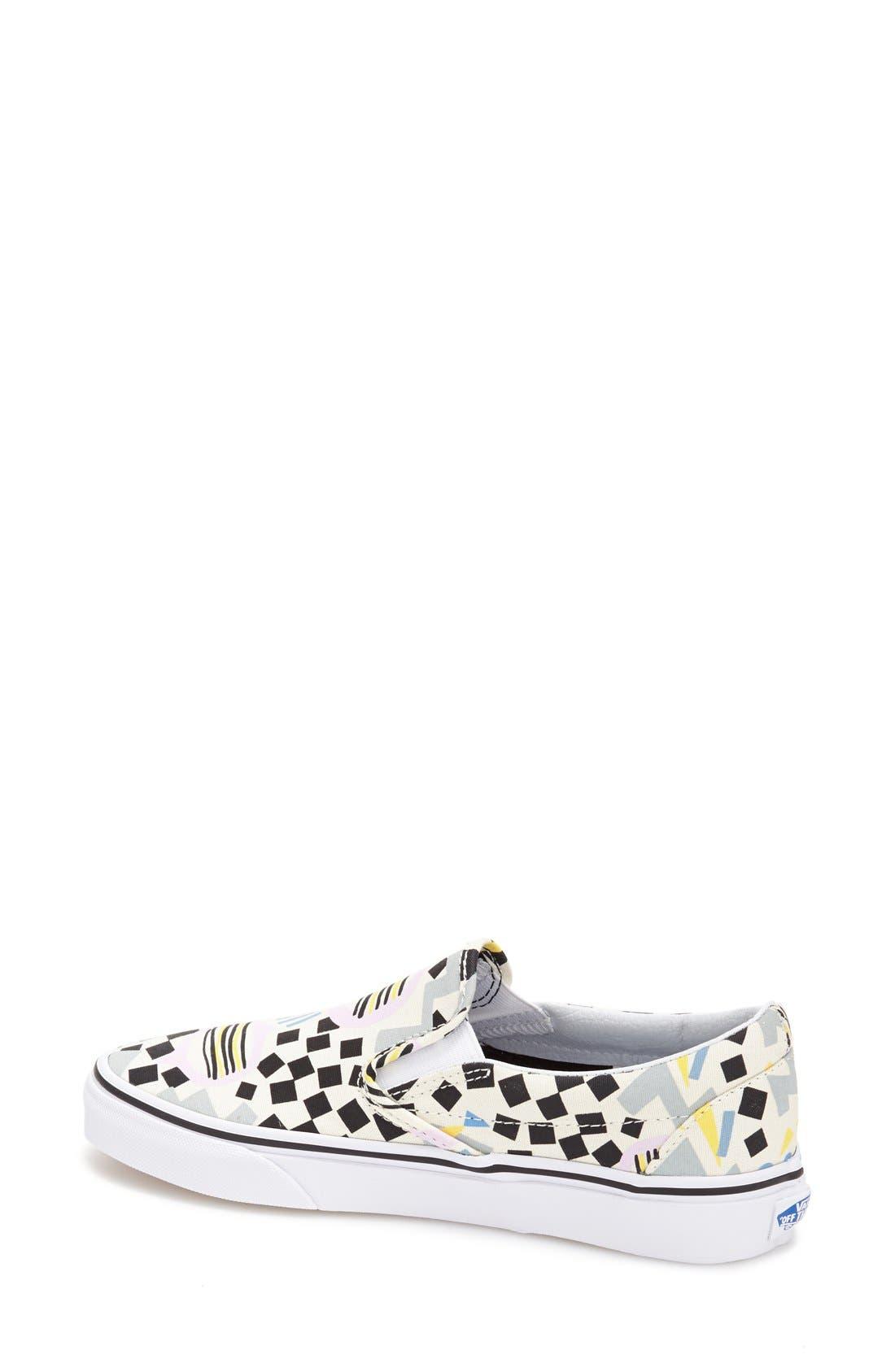 Alternate Image 2  - Vans 'Classic' Slip-On Sneaker (Women)