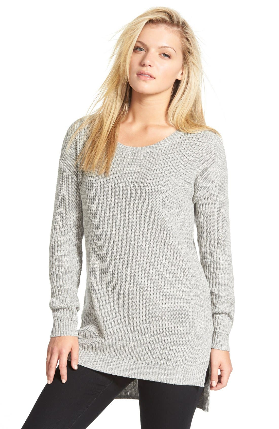 Alternate Image 1 Selected - BP. Textured Knit Pullover