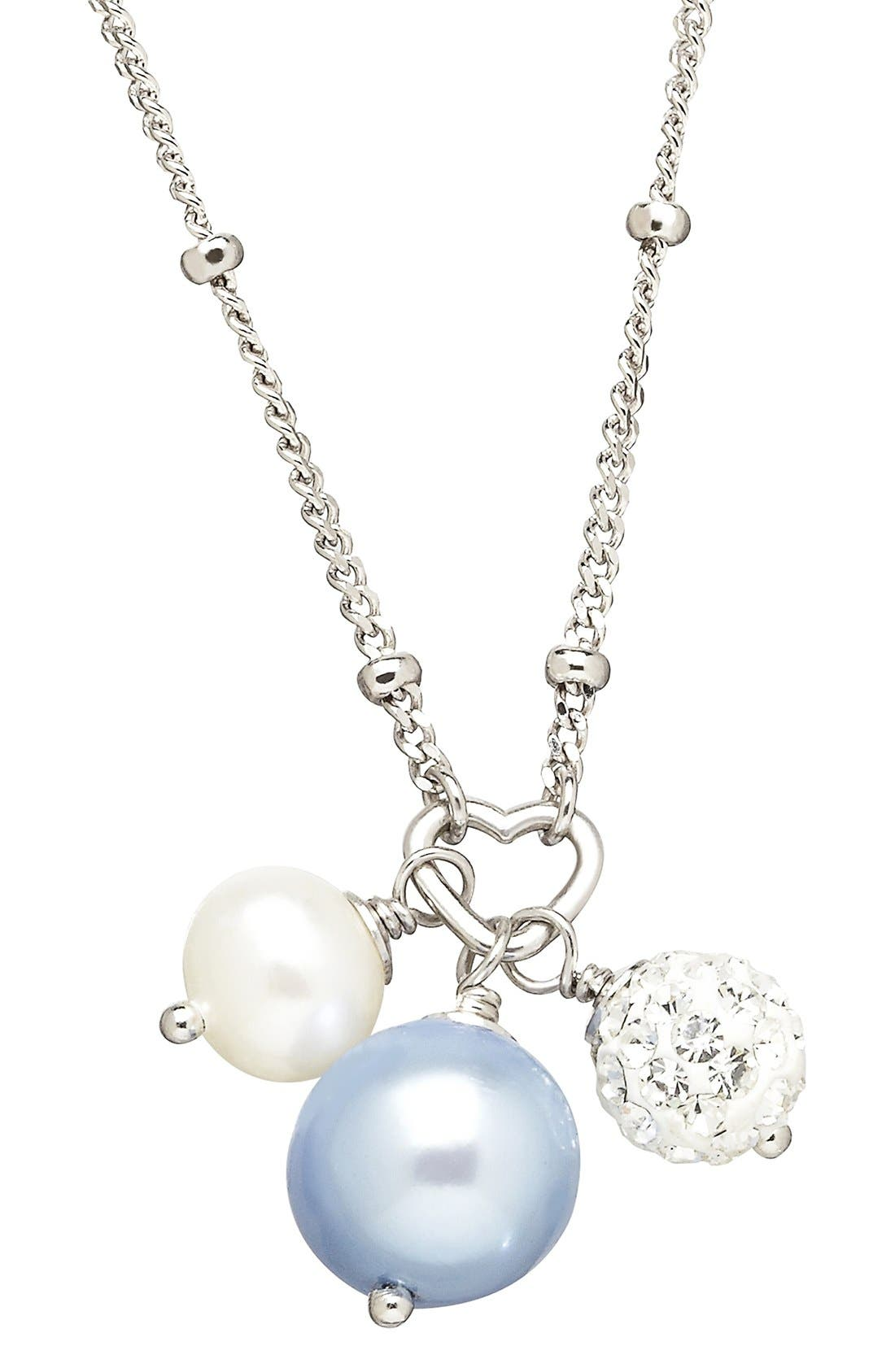 HONORA FreshwaterPearl & Crystal Necklace
