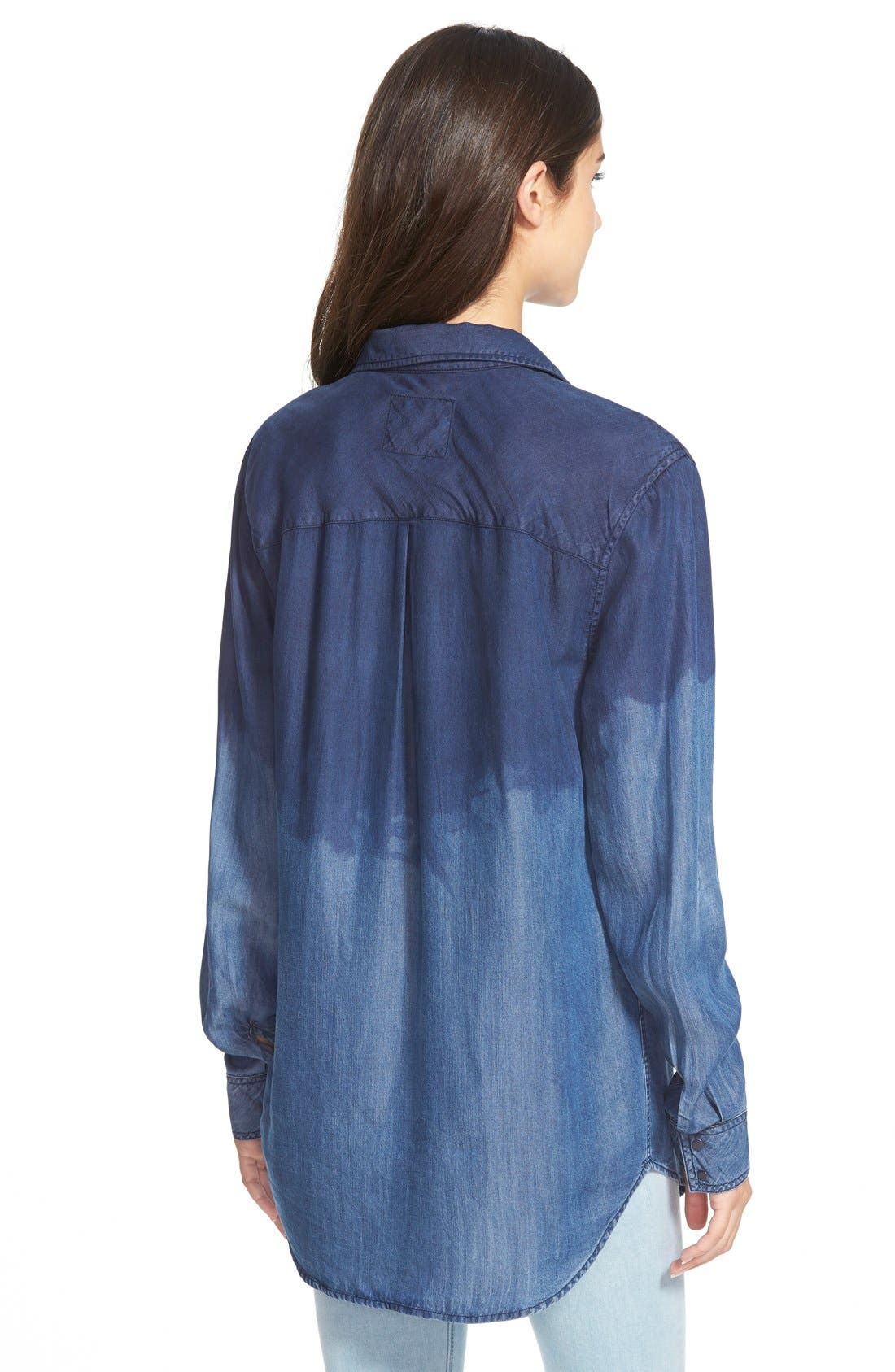 Alternate Image 2  - Rails 'Marlow' Ombré Chambray Shirt