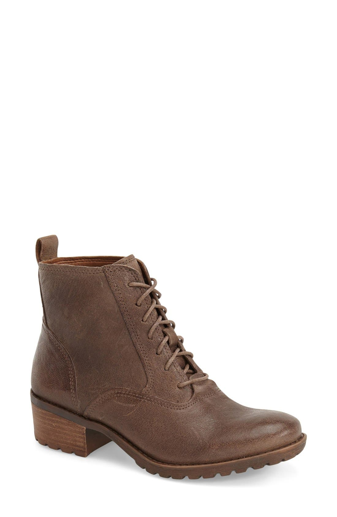 Alternate Image 1 Selected - Lucky Brand 'Giorgia' Lace Up Bootie (Women)