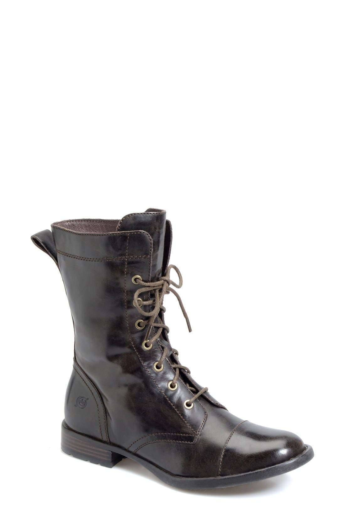 Main Image - Børn 'Livingston' Combat Boot (Women)