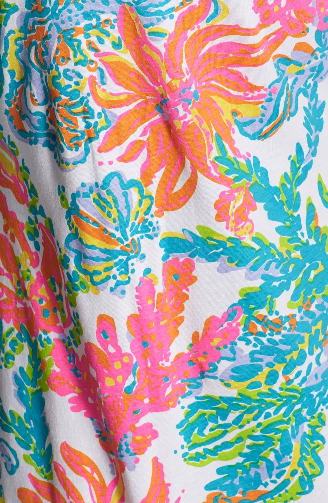Alternate Image 4  - Lilly Pulitzer® 'Palmetto' Print Pima Cotton T-Shirt Dress