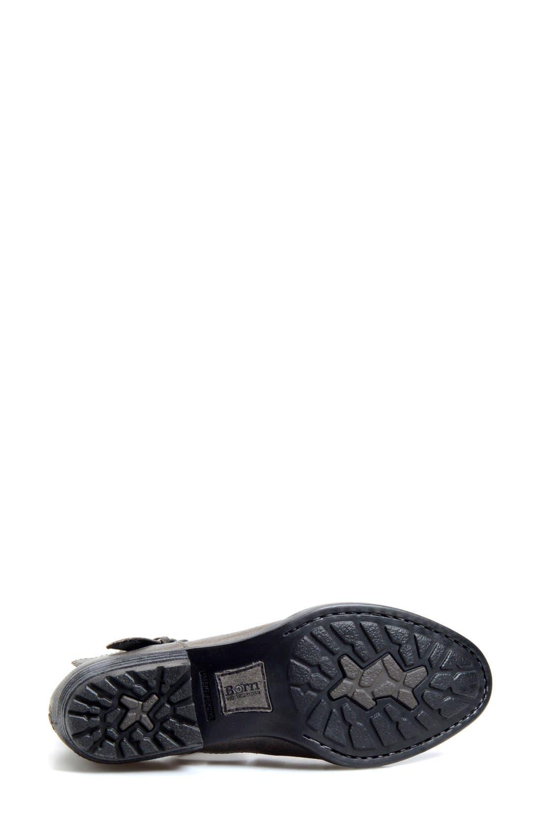 Alternate Image 4  - Børn 'Kamilla' Cutout Ankle Boot (Women)