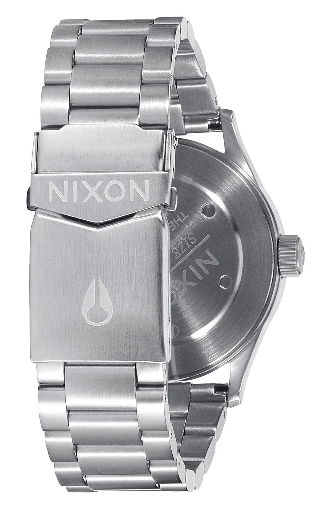 Alternate Image 2  - Nixon 'The Sentry' Bracelet Watch, 38mm