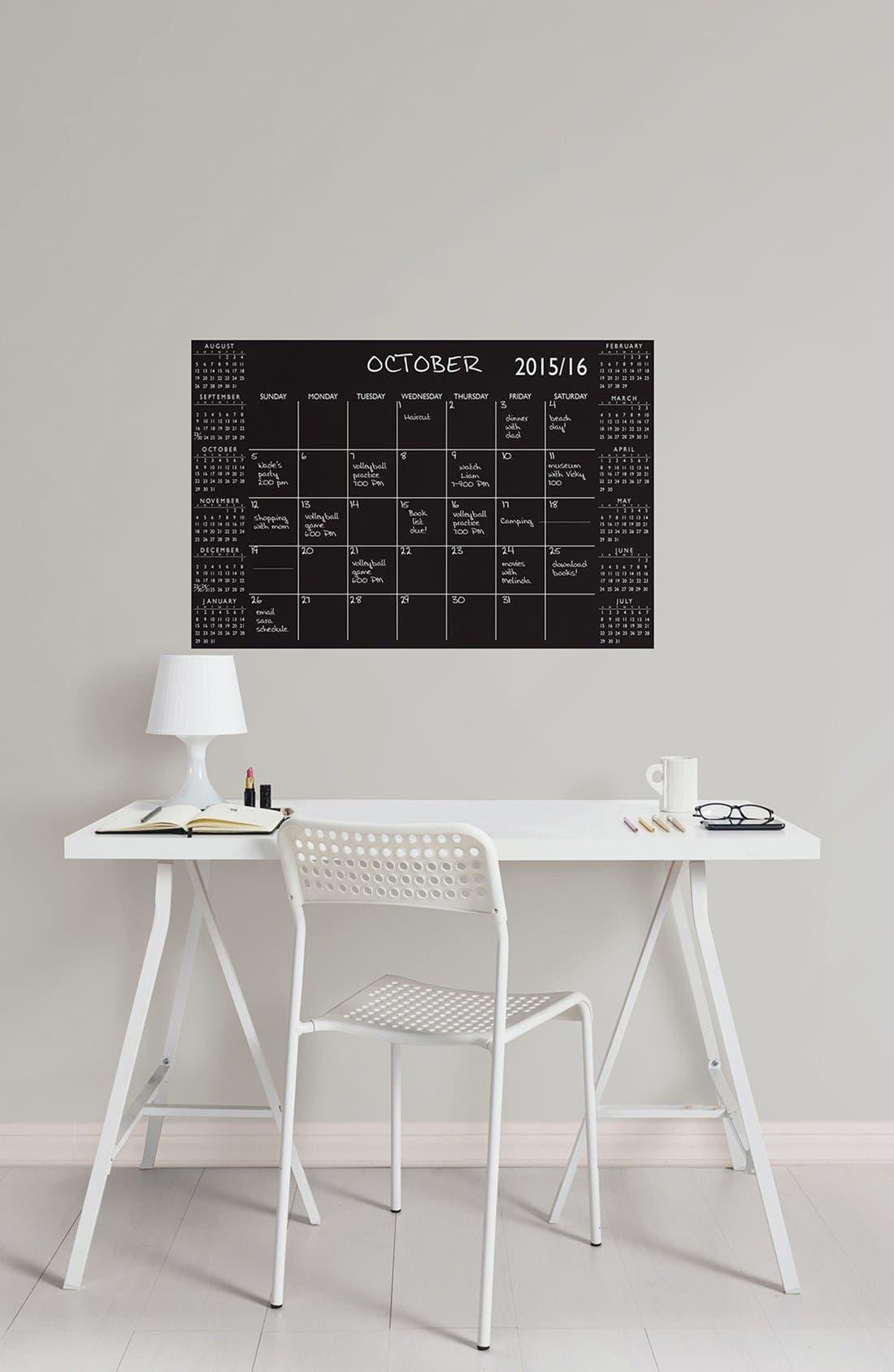 Alternate Image 2  - Wallpops Academic Dry Erase Calendar Wall Decal