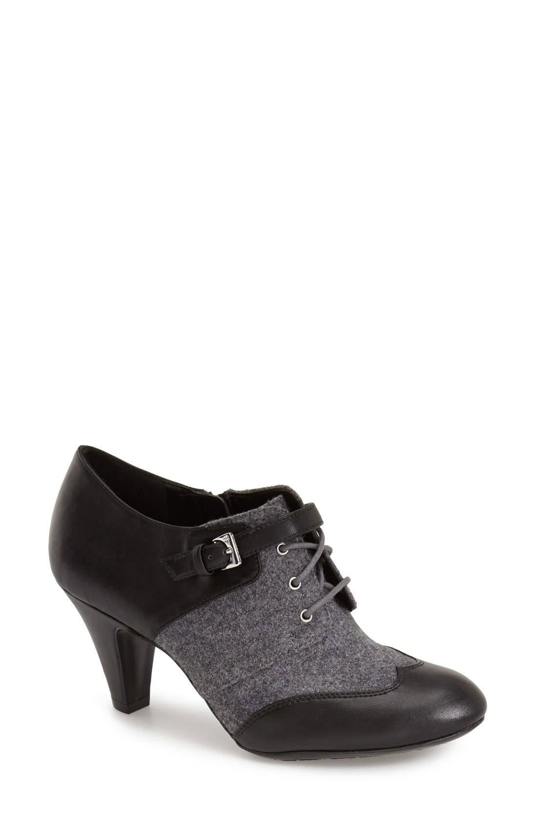 Alternate Image 1 Selected - Naturalizer 'Bettina' Lace-Up Bootie (Women)