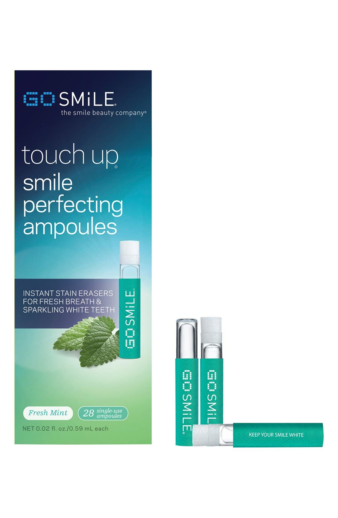 GO SMiLE® 'Touch Up - Fresh Mint' Smile Perfecting Ampoules