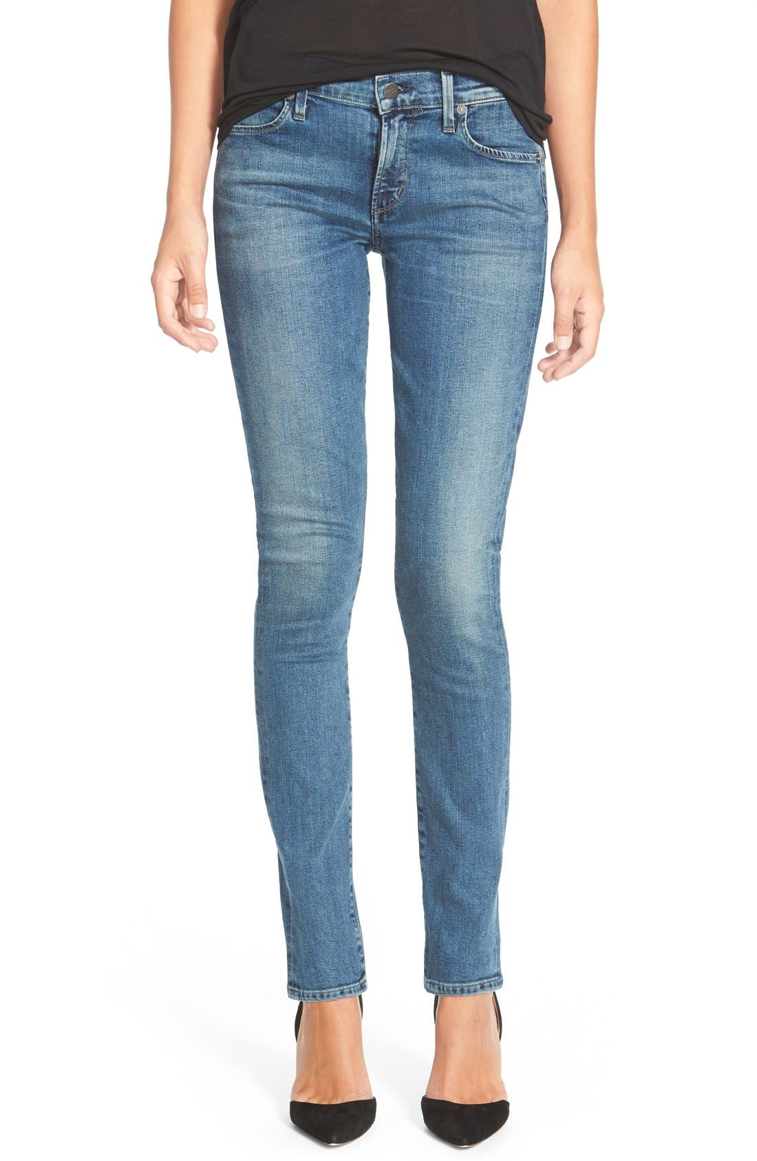 Skinny Jeans,                             Main thumbnail 1, color,                             Clear Lake