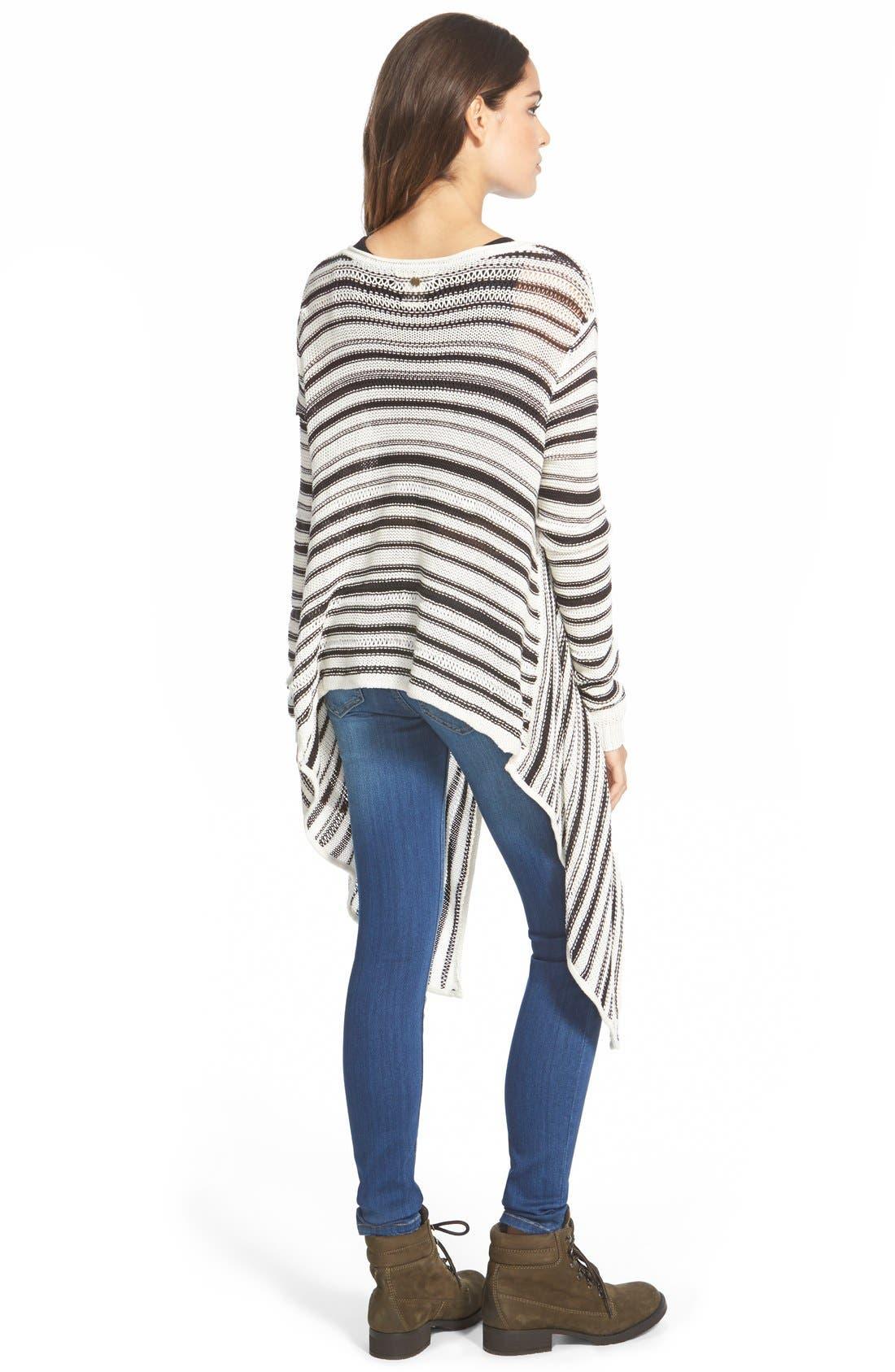 Alternate Image 2  - Billabong 'Love Lock' Stripe Cotton Sweater