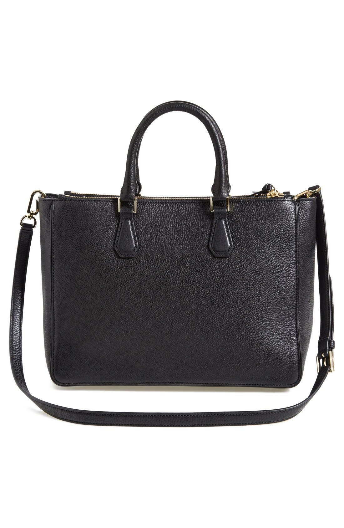 Alternate Image 3  - Tory Burch 'Robinson' Pebbled Leather Double Zip Tote