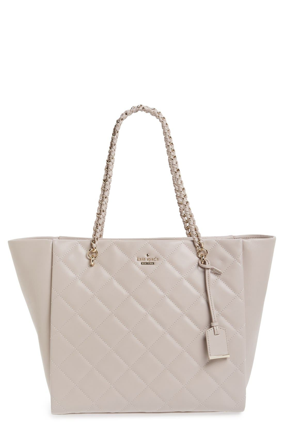 Main Image - kate spade new york 'emerson place - francelle' quilted leather tote