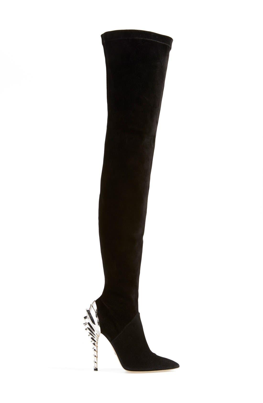 Alternate Image 4  - Paul Andrew 'Chrysler' Thigh High Boot (Women) (Narrow Calf)