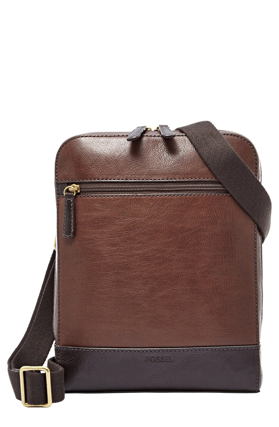 Main Image - Fossil 'Rory' Leather Crossbody Bag